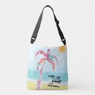Bolsa Ajustável acorde e cheire a inspiração, a praia e a palma