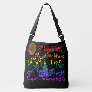 Bolsa Ajustável Acredite em o senhor mesmo o saco ideal do amor