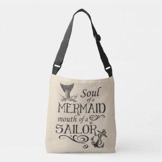 Bolsa Ajustável Alma de uma sereia, boca de um marinheiro