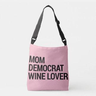 Bolsa Ajustável Amante de vinho de Democrata da mamã