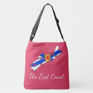 Bolsa Ajustável Ame o rosa transversal do saco de Nova Escócia da