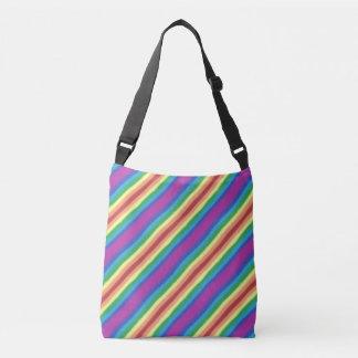 Bolsa Ajustável Arco-íris violeta