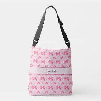 Bolsa Ajustável Arcos cor-de-rosa bonitos do cetim