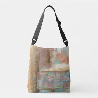 Bolsa Ajustável Arte abstracta que pinta a janela Pastel do