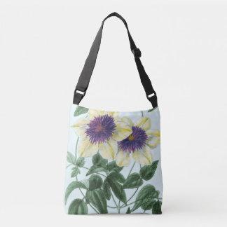 Bolsa Ajustável Arte da flor do Clematis