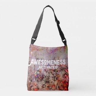 Bolsa Ajustável Awesomeness ativou - flores - a sacola