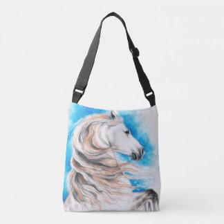 Bolsa Ajustável Azul andaluz do cavalo