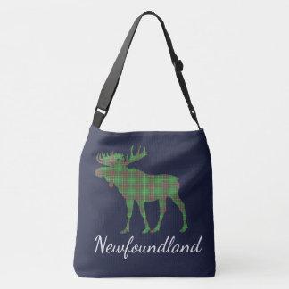 Bolsa Ajustável Azul bonito da sacola de Terra Nova   dos alces do