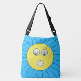Bolsa Ajustável Azul de tiragem Scared divertimento de Sun