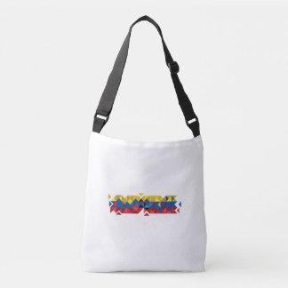 Bolsa Ajustável Bandeira abstrata de Equador, república de cores