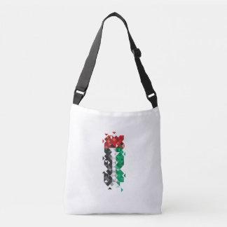 Bolsa Ajustável Bandeira abstrata dos UAE, saco de United Arab