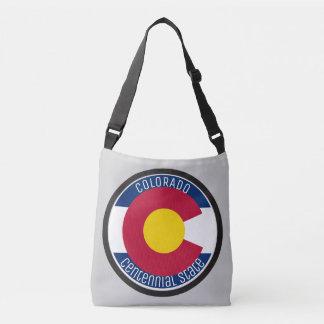 Bolsa Ajustável Bandeira da circular de Colorado
