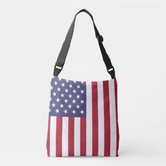 """Bolsa Ajustável """"Bandeira nacional dos Estados Unidos da América"""