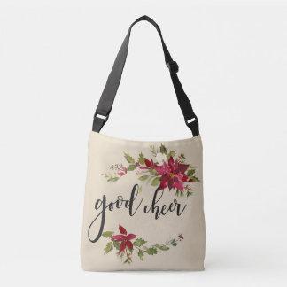 Bolsa Ajustável Boas poinsétias e decoração completas da flor