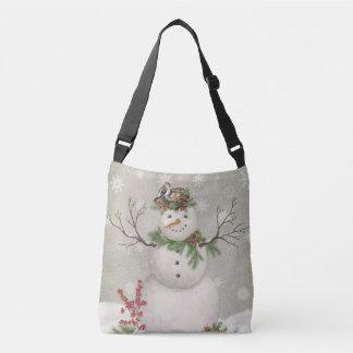 Bolsa Ajustável boneco de neve moderno do wintergarden do vintage