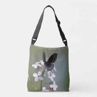 Bolsa Ajustável Borboleta preta do swallowtail