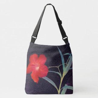 Bolsa Ajustável Brisa vermelha rústica da flor
