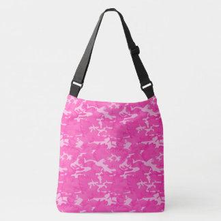 Bolsa Ajustável Camo cor-de-rosa