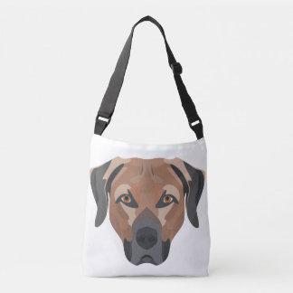Bolsa Ajustável Cão Brown Labrador da ilustração