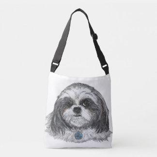 Bolsa Ajustável Cão de Shih Tzu