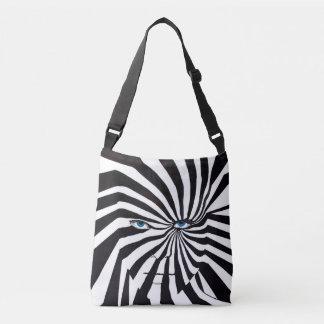Bolsa Ajustável Cara da zebra no saco para o transporte de