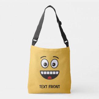 Bolsa Ajustável Cara de sorriso com boca aberta