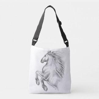 Bolsa Ajustável Cavalo andaluz poderoso