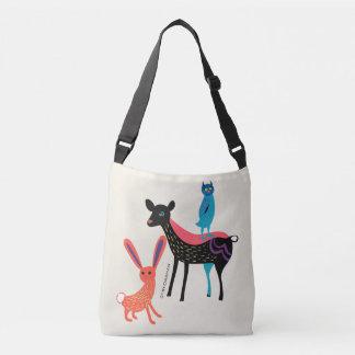 Bolsa Ajustável Cervos dos animais do bebê, coelho, coruja, o