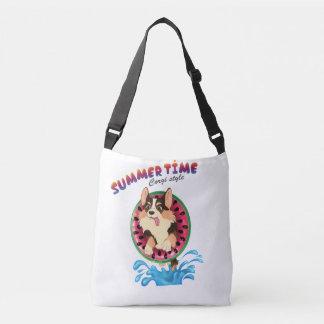 Bolsa Ajustável Chameja o corgi - verão