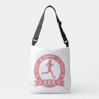 Bolsa Ajustável Círculo fêmea FUNCIONADO do riso amor vivo (rosa)