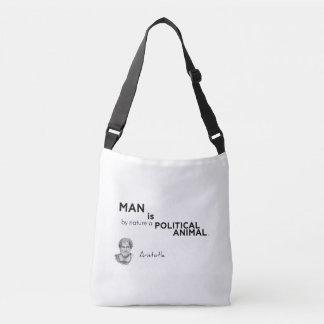 Bolsa Ajustável CITAÇÕES: Aristotle: Homem: animal político