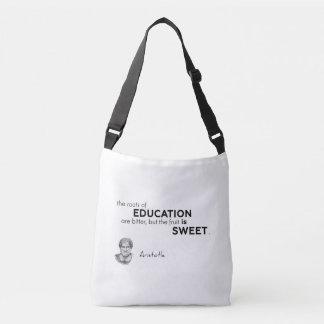 Bolsa Ajustável CITAÇÕES: Aristotle: Raizes da educação