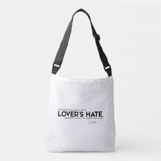 Bolsa Ajustável CITAÇÕES: Euripides: O ódio do amante