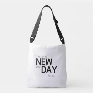 Bolsa Ajustável CITAÇÕES: Heraclitus: O sol é novo cada dia