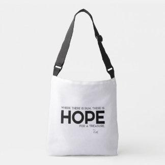 Bolsa Ajustável CITAÇÕES: Rumi: Ruína, esperança