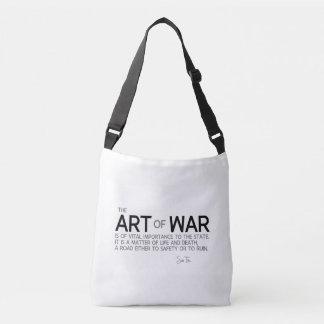 Bolsa Ajustável CITAÇÕES: Sun Tzu: Estratégia militar, vida e