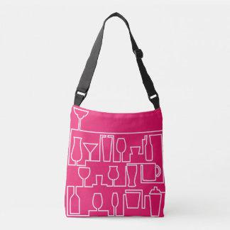 Bolsa Ajustável Cocktail cor-de-rosa