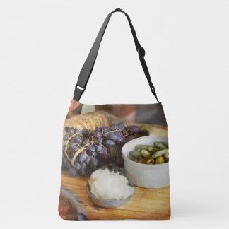 Bolsa Ajustável Comida - fruta - pepino e uvas
