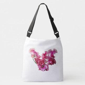 Bolsa Ajustável Coração cor-de-rosa da ervilha doce