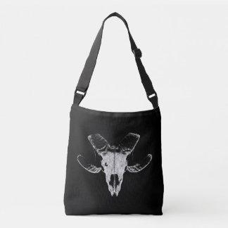 Bolsa Ajustável Crânio da ovelha em saco preto