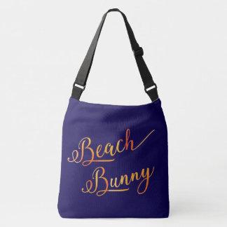 Bolsa Ajustável Da cor estilizado do pêssego do coelho da praia