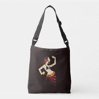 Bolsa Ajustável dançarino de barriga tribal da fusão com pratos
