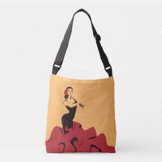 Bolsa Ajustável dançarino do flamenco em uma pose espectacular