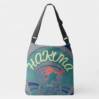 Bolsa Ajustável Design azul do corpo à moda bonito de Hakuna