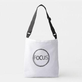 Bolsa Ajustável Design contemporâneo à moda da tipografia do foco