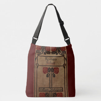 Bolsa Ajustável Design do livro do estilo de Nouveau da arte