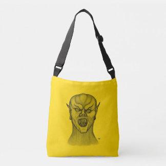 Bolsa Ajustável Design do vampiro, do preto e do amarelo