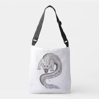 Bolsa Ajustável Design preto e branco de Wolfdragon em Tattoostyle