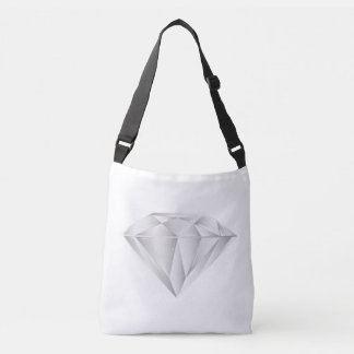 Bolsa Ajustável Diamante branco para meu querido