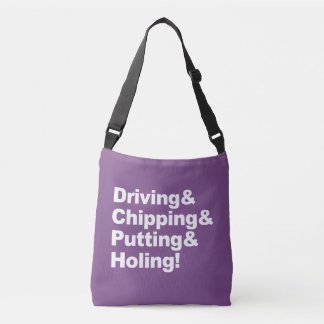 Bolsa Ajustável Driving&Chipping&Putting&Holing (branco)